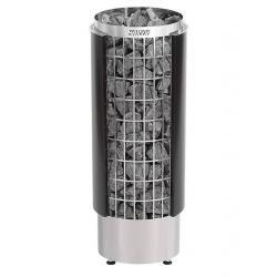 Harvia Saunová kamna Cilindro PC90HE, černá, polovina pláště